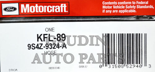 FORD OEM 09-11 Focus 2.0L-L4 Fuel System-Vent Hose 9S4Z9324A