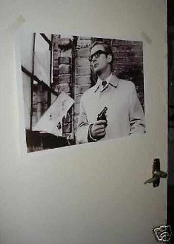 Michael Caine Door Poster NEW B//W #2