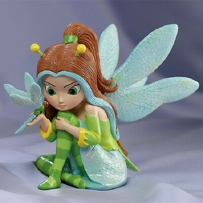 Dazzling as a Dragonfly Jasmine Becket Griffith Fairy Figurine - Busy as a Bee