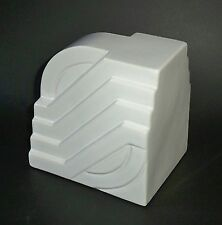 Art Deco Streamline Modern / Machine Age Ceramic Objet d'art Single Bookend