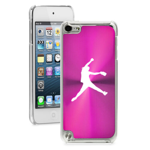For Apple iPod Touch 4th 5th 6th Hard Case Cover Female Softball Pitcher