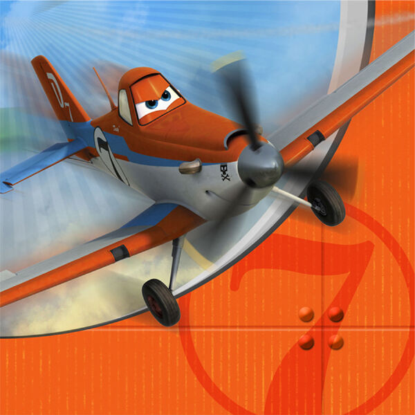 DISNEY PLANES BIRTHDAY PARTY SUPPLIES LUNCH NAPKINS 2 PLY PACK OF 16