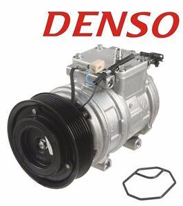 For Jaguar Vanden Plas XJ8 XJR Air Condition A//C Compressor w// Clutch Denso OEM