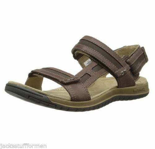 63d954a5d927 Merrell Traveler Tilt Convertible Sandals Mens Size 13 Brown J62217 for sale  online