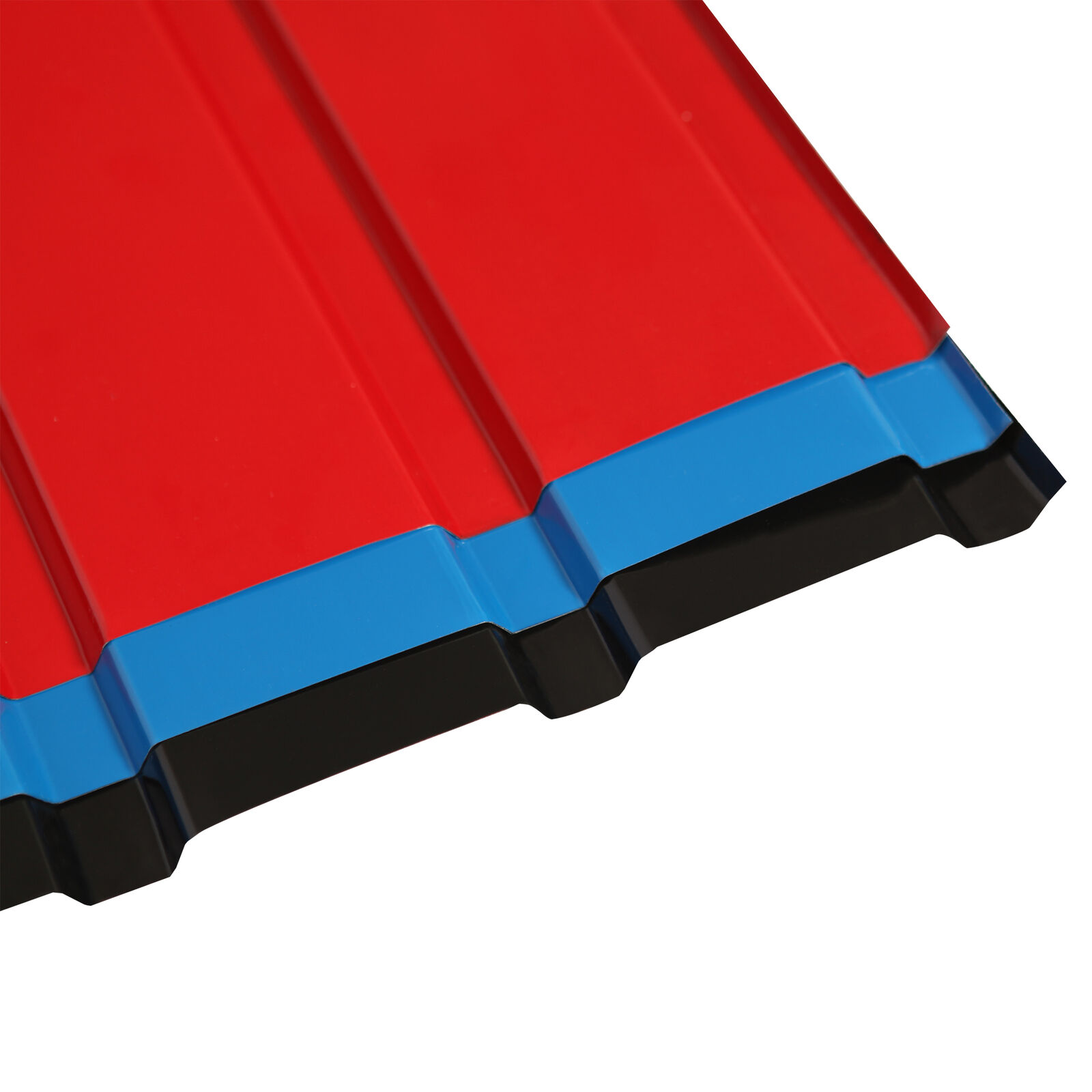 12 PCS Roof Sheets Corrugated Profile Galvanized Metal Roofing Carport 4 Colours