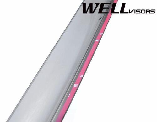 For 13-19 Ford Escape WellVisors BLACK TRIM Side Window Visors Rain Deflectors