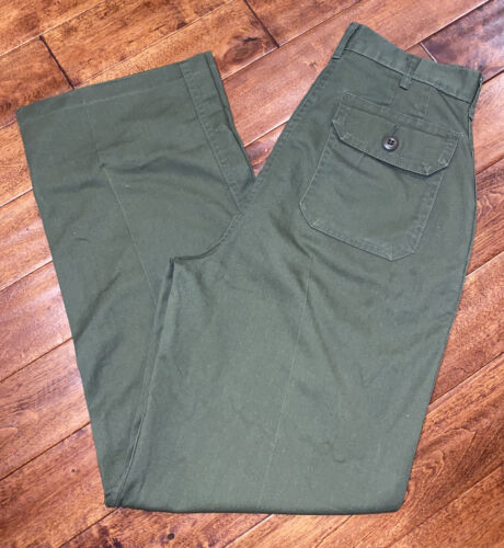 Vintage Military Pants OG-507 28 OG-107