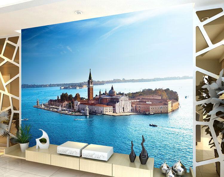 Church San Giorgio Sea Full Wall Mural Photo Wallpaper Print Kids Home 3D Decal