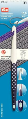 Qualità 1a wollhäkelnadel mettili nobiltà ergonomico selezionabile 6-7-8-9-10-12-15 mm