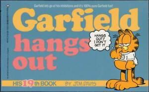 DéLicieux Garfield 19th Book: Garfield Annexe Out (anglais, 1. édition 1990) Z 2+-afficher Le Titre D'origine êTre Reconnu à La Fois Chez Soi Et à L'éTranger Pour Sa Finition Exceptionnelle, Son Tricot Habile Et Son Design éLéGant