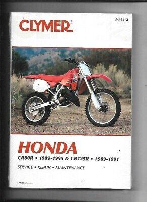 Honda CR80R 1989-1995 /& CR125R 1989-1991 Clymer Werkstatthandbuch M431-2 Neu
