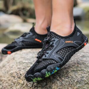 Men Mesh water shoes Hollow sports