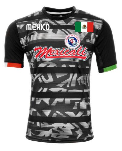 Jersey Mexico Aguilas de Mexicali 100/% Polyester Black//Grey/_Made in Mexico