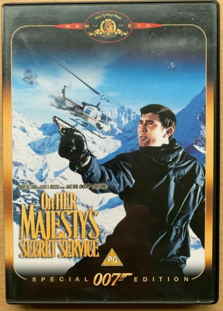 On Her Majesty's Secret Service DVD 1969 James Bond Classic Special Edition