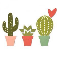 Sizzix Thinlits Corte Die Cactus 6pk 661700 by Debbie Potter