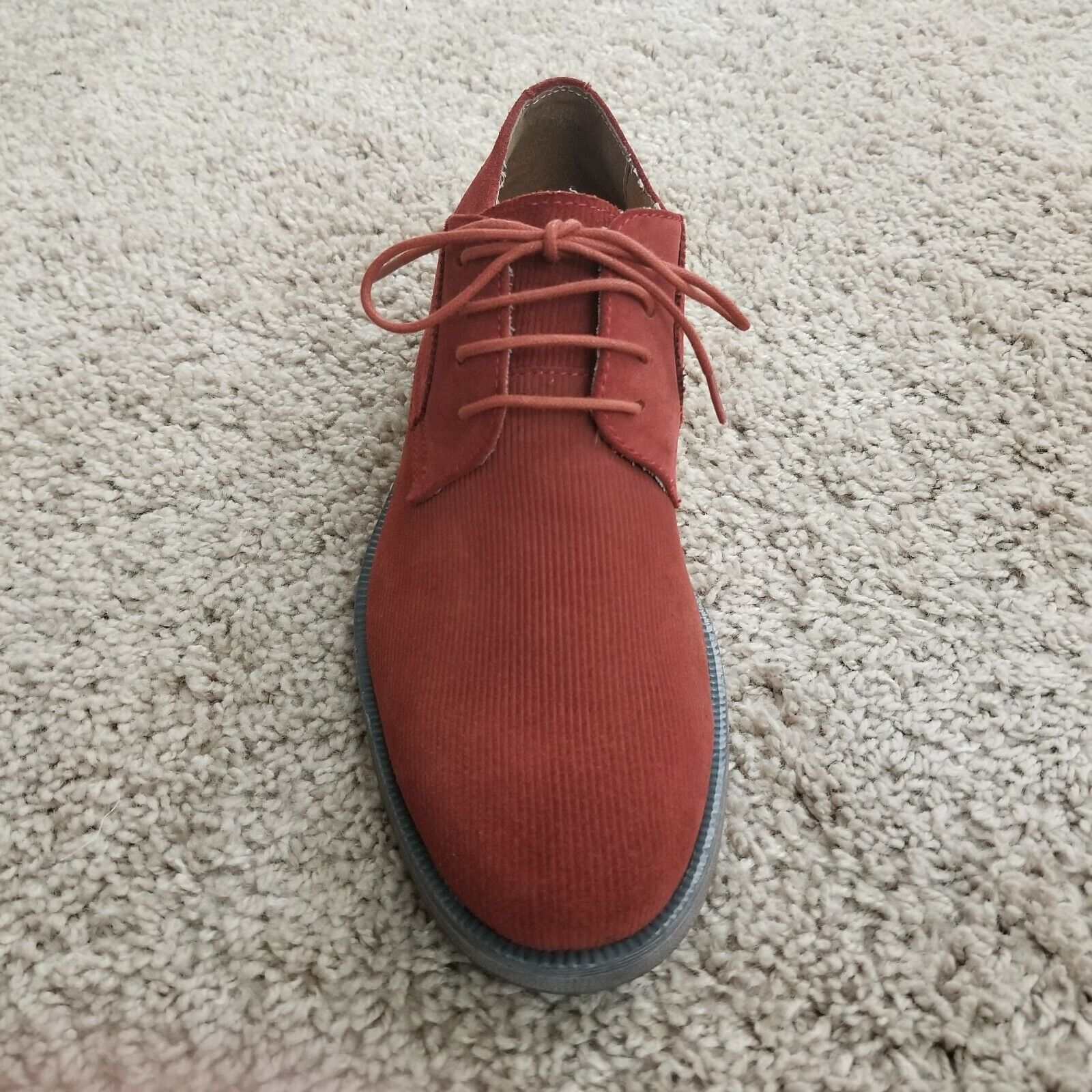 Stacy Adams Men's Dress shoes Corday Oxford Paprika Suede 24980-808 size 9 M