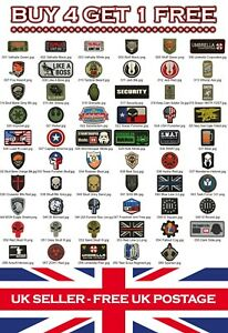 Rubber-Airsoft-Military-Tactical-PVC-Patch-Patches-Badge-Badges-Listing-1
