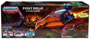 Masters Of The Universe Classics Point Fighter Dread & Talon avec figurine Teela * nu