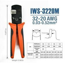 Iws 3220m Micro Connector Pin Crimping Tool 003 052mm 32 20awg For Molexjst
