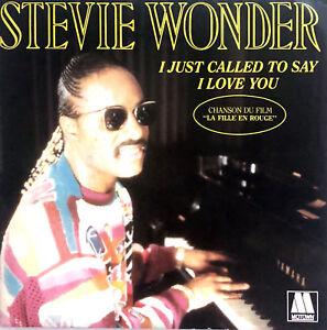 Stevie-Wonder-7-034-I-Just-Called-To-Say-I-Love-You-France-EX-EX