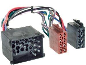 Trempé Auto Radio Câble Adaptateur Pour Bmw 3er E36 Compact Coupé E46 Limo-afficher Le Titre D'origine