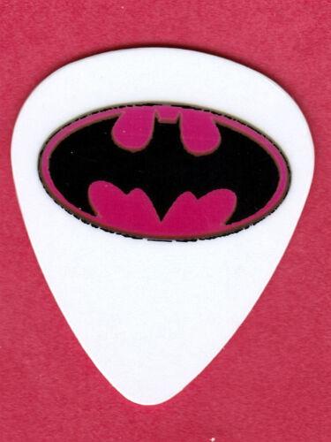 BATMAN PINK LOGO FULL COLOR GUITAR PICKS SET OF 4