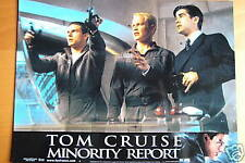 MINORITY REPORT LOBBY CARD TOM CRUISE S SPIELBERG
