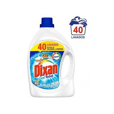 Dixan Gel Detergente Regular Más Concentrado 2L (40 dosis)