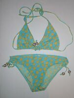 Gap Body Bikini Bathing Suit Swimsuit Green S Small M Medium