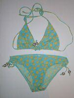 Gap Body Bikini Bathing Suit Swimsuit Green S Small M Medium