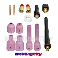 """TIG Welding Gas Lens Accessory Kit (1/16"""") for Torch 9/20/25 T39B   US Seller"""