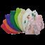 Indexbild 17 - 🔷🔶3 / 5 / 10x FFP2 Kinder Bunte Masken KINDERMASKEN ZERTIFIKAT Farbig 9 Farben