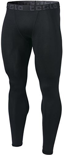Tesla Men/'s Compression Pants Baselayer Cool Dry Sports Tights Leggings