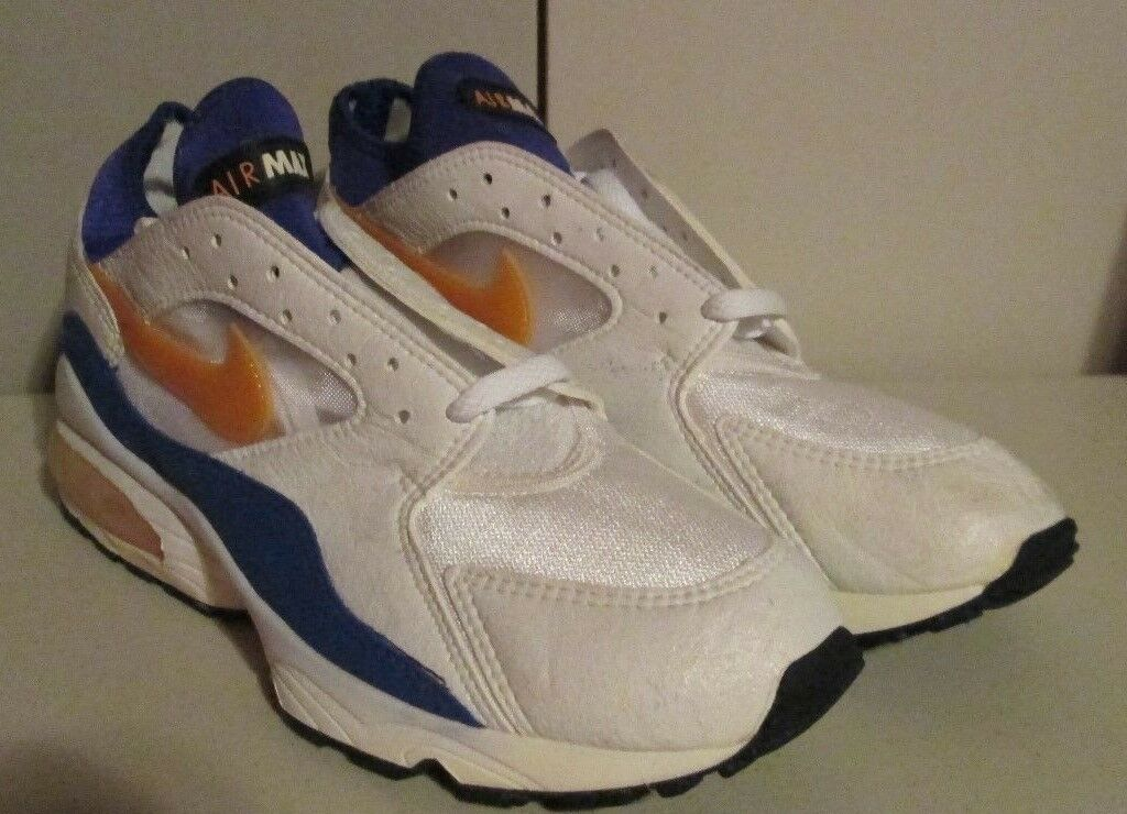 06a36b65dd5056 100% Authentic ORIGINAL OG DS Deadstock 1993 Nike Air Max 93 Citrus BRAND  NEW well