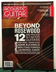 Acoustic Guitar Beyond Rosewood Alt-Wood 3 Songs February 2019