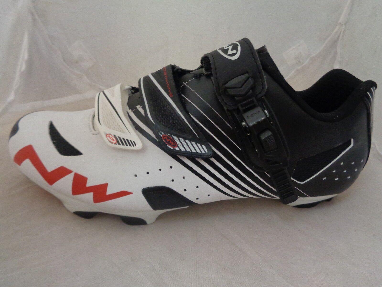 North Wave Hammer Hombres Zapatos De Ciclismo UK 7.5 nos 8.5 EU 41 cm 26.6 ref 873 -