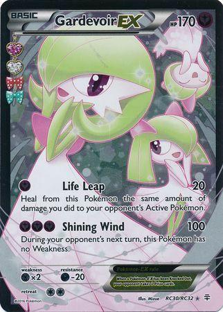 Pokemon Card Full Art Gardevoir EX RC30//RC32 Generations Ultra Rare NM