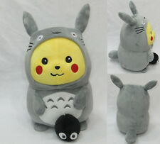 Plüschtier Pikachu kostüm verkleidet Totoro 30cm Pokemon plush SCHIFFEN WELTWEIT