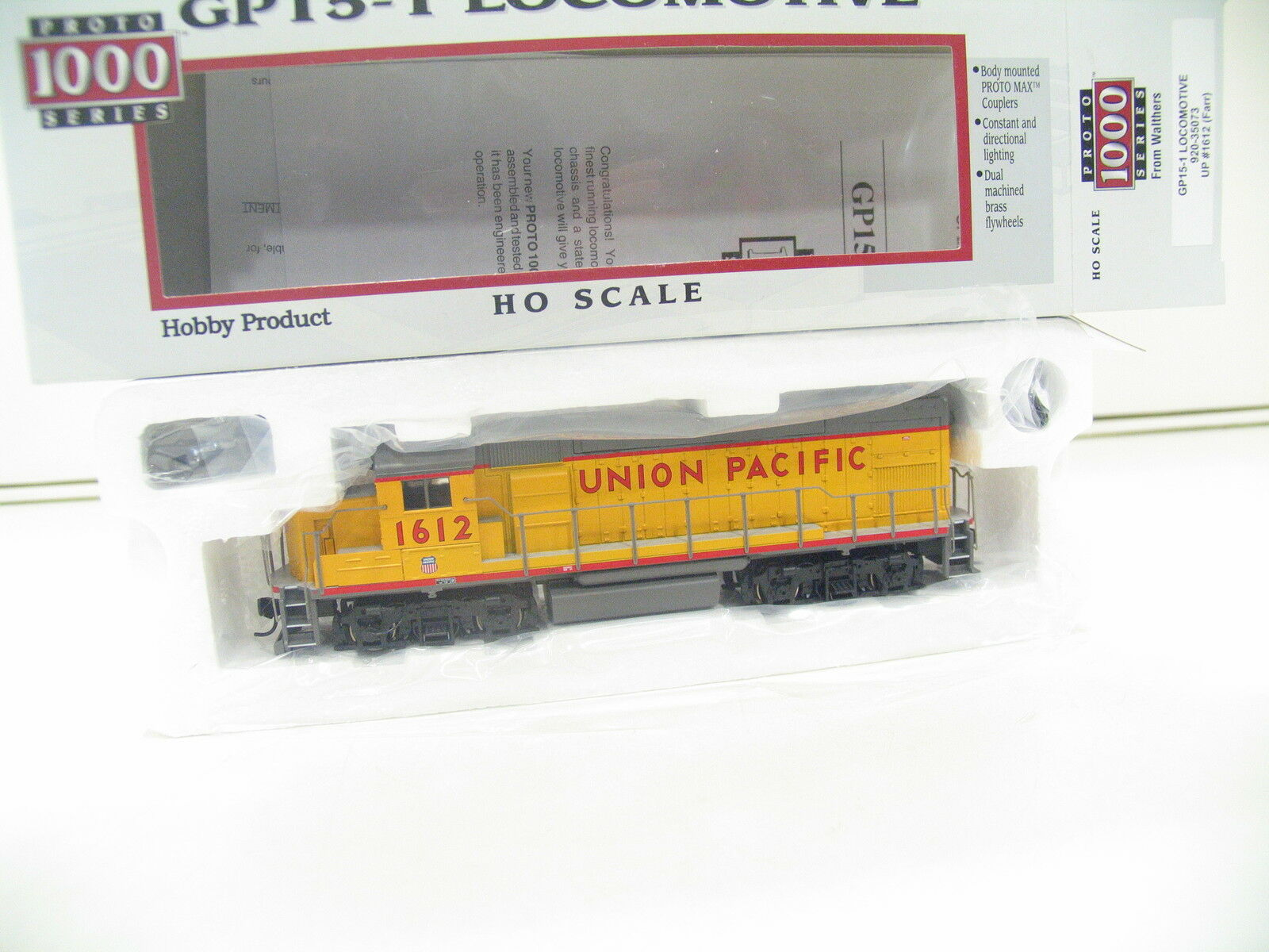 Walthers proto 1000 serie 920-35073 GP 15-1 Locomotive Union Pacific 1612 jl863