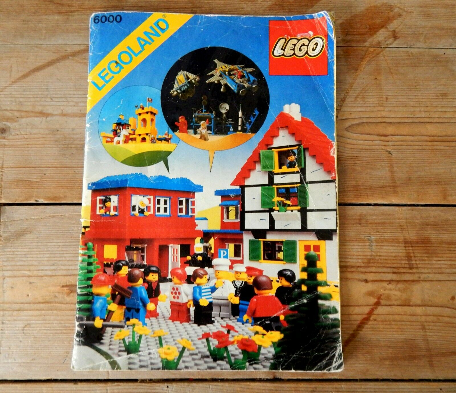 Vintage Lego Catalogue Catalog Booklet Brochure 1979 Figures Sets Mini Figs