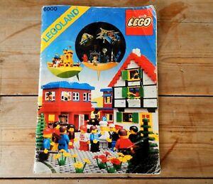 Details about Vintage Lego Catalogue Catalog Booklet Brochure 1979 Figures  Sets Mini Figs
