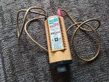 Vintage Working Ideal Industries Voltage Tester No61 065 600v Ac Dc Usa
