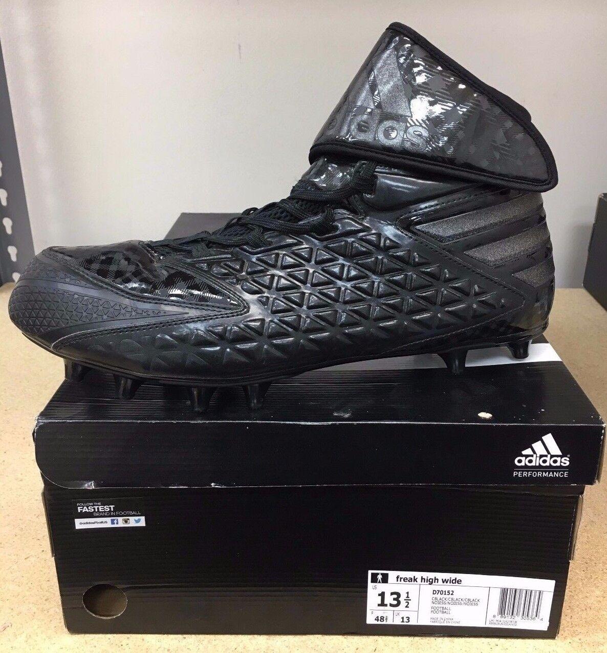 Adidas Freak High (Wide) Mens Football Cleat SKU D70152 Size 13.5