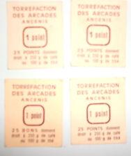 LOT 4 TICKETS 1 POINT TORREFACTION DES ARCADES ANCENIS