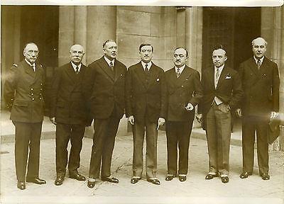"""""""congres Union Des Officiers De Reserve (1932)"""" Photo Originale G. Devred / Rol Fortalecimiento De Los Tendones Y Los Huesos"""