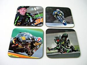 Bradley-Smith-Britanico-MotoGP-Estrellas-Conjunto-Posavasos