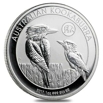 2013 Australia Silver Kookaburra 1 Oz 999 Fine Silver Coin Mint BU from Roll