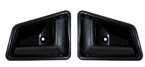 SUZUKI VITARA 89-98 set di 2 maniglie MANIGLIA INTERNA SX DX NERO
