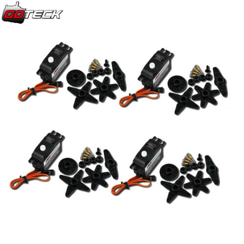 4x GS-D9257 Coreless Tail Lock Servo TL2301-04 for Tarot 450 RC Helicopter Parts