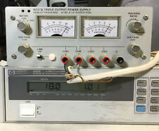Hp 6237b Variable Triple Dc Power Supply 0 To 20v 5a 0 To 18v 1a Tested